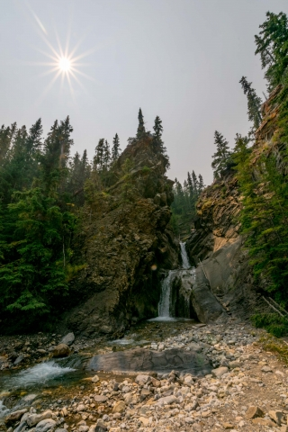 Whitegoat Falls Trail