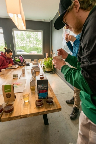 Coffee Cupping at DOSE Coffee Co