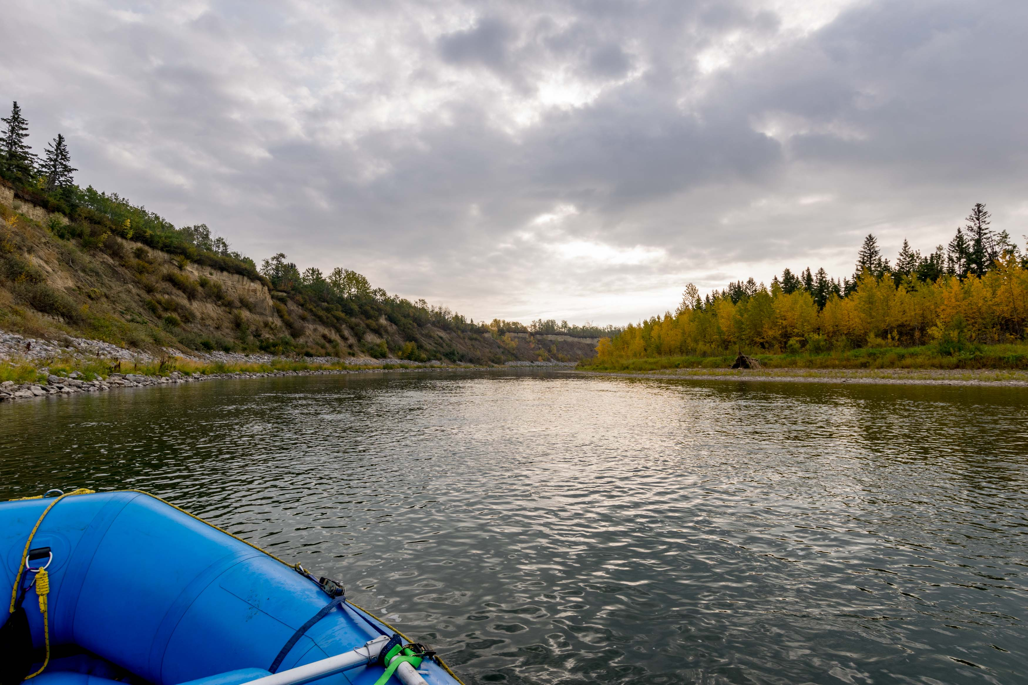 Red Deer River Fall Colours