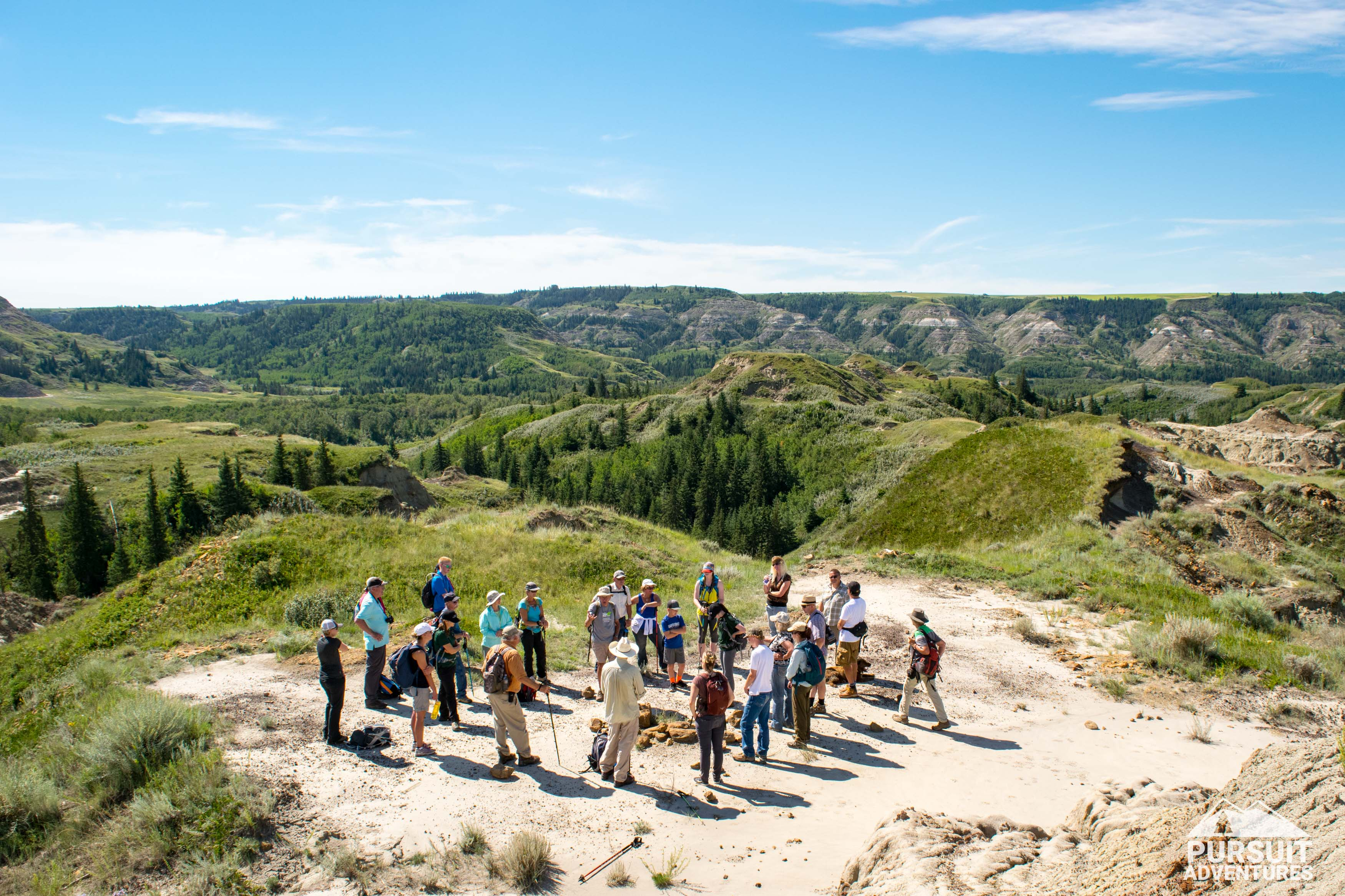 Red Deer River Watershed Alliance Hiking Learning Journey