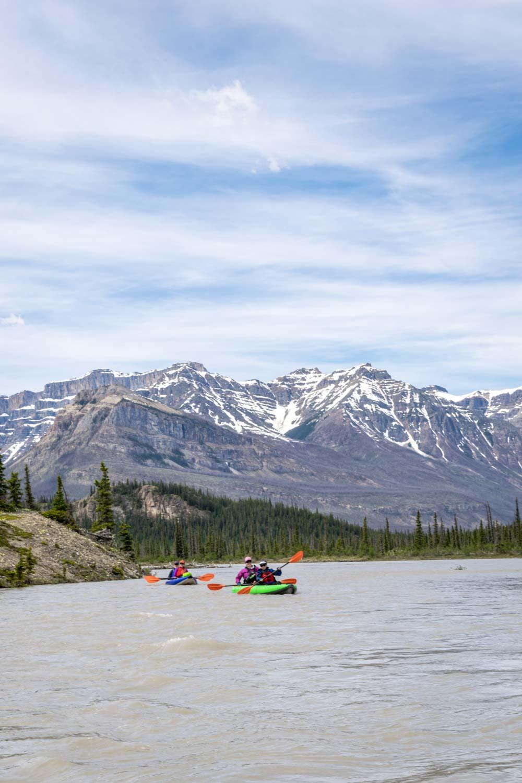 Paddling the North Saskatchewan River
